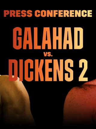 Kid Galahad vs Jazza Dickens Poster