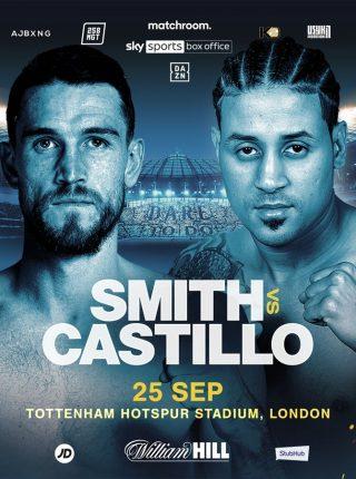 Callum Smith vs Castillo Fight-Poster