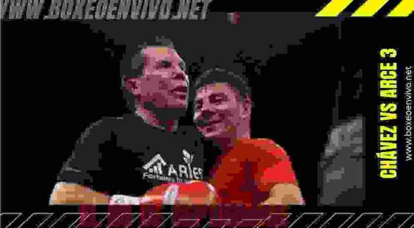 Julio César Chávez vs Jorge El Travieso Arce 3