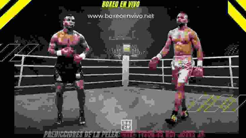 Mike Tyson vs Roy Jones Jr: Predicciones De la Pelea