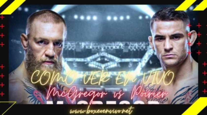 How to watch the McGregor vs Poirier fight Live