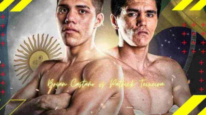 Brian Castaño vs Patrick Teixeira