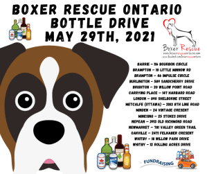 May 29th BRO Bottle Drive! @ BRO May Bottle Drive