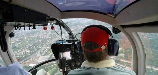 Provflyg Helikopter i Stockholm Image