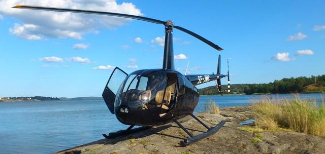 Helikoptertur över Stockholm Singel Image
