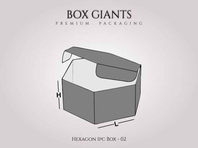 Hexagon 1 PC Boxes