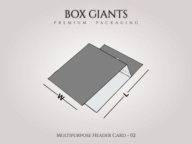 Multipurpose Header Card