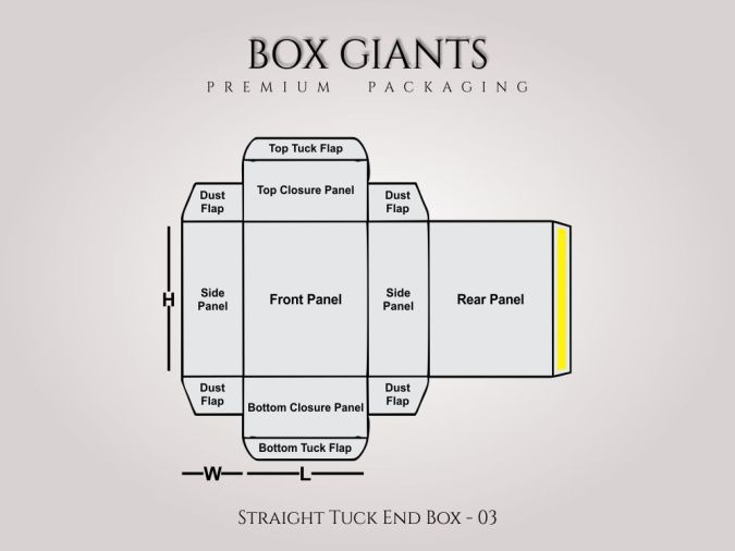 Custom Printed Straight Tuck End Boxes