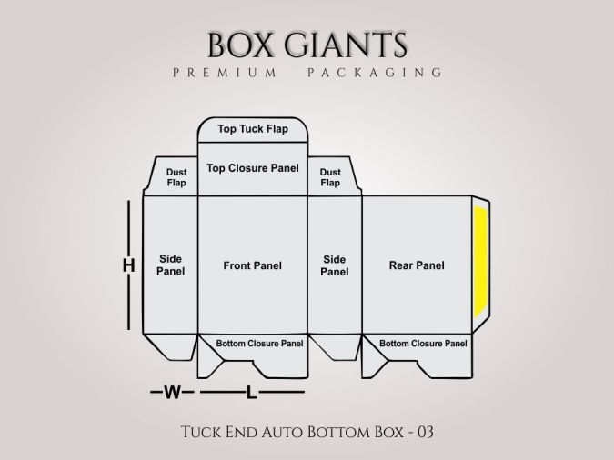 Custom Printed Tuck End Auto Bottom Boxes