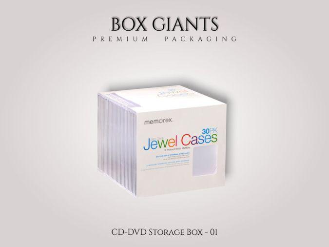 Custom Printed CD/DVD Boxes