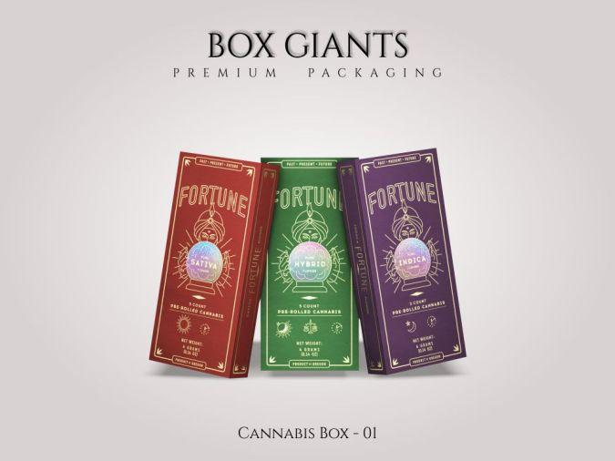 Custom Printed Cannabis Boxes