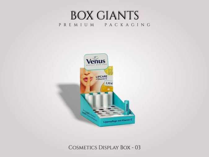 Custom Printed Cosmetics Display Boxes