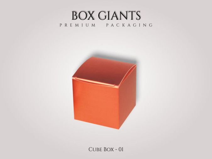 Custom Printed Cube Boxes