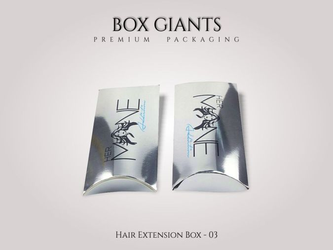 Custom Printed Hair Extension Boxes