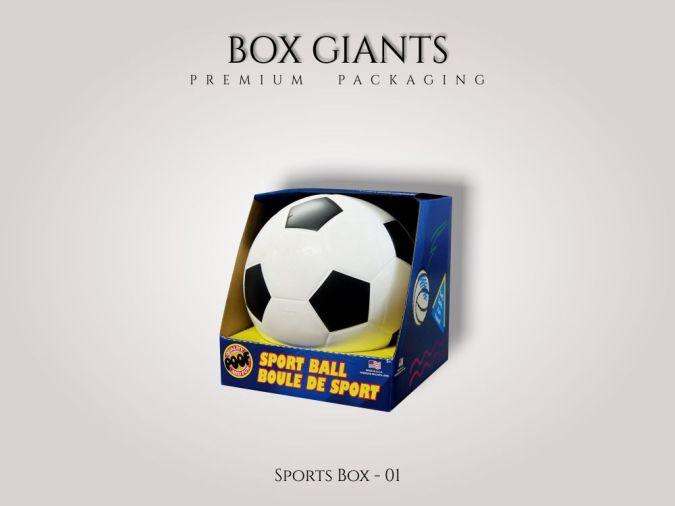 Custom Printed Sports Boxes