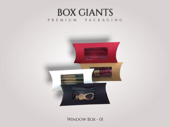 Custom Printed Window Boxes