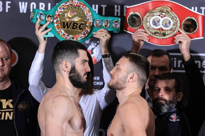 Beterbiev Vs Deines ESPN+ Weigh In Results & Photos — Boxing News