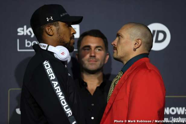 Alexander Usyk, Anthony Joshua, Tyson Fury - Boxing News
