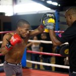 9 ago 2013 Bomba Gonzalez last pre weigh in and training for Giovani Segura 17