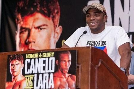 Canelo vs Lara Press Conference in Puerto Rico