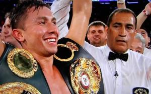 Gennady Golovkin is a huge power puncher in boxing today