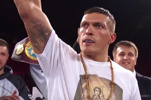 Oleksandr Usyk defends Cruiserweight title