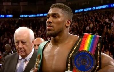 Joshua vs. Pulev is among the October Top 5 fights in boxing