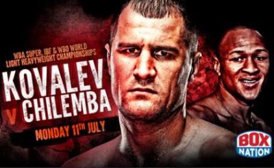 Kovalev vs Chilemba Boxing Banner
