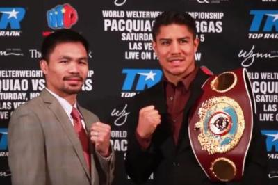 Pacquiao vs Vargas press conference