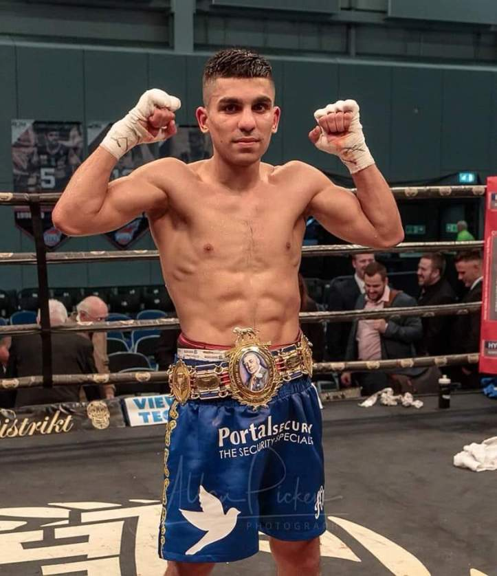 Expect big things to come for Ukashir Farooq as he climbs through the rankings   Farooq vs Castillo