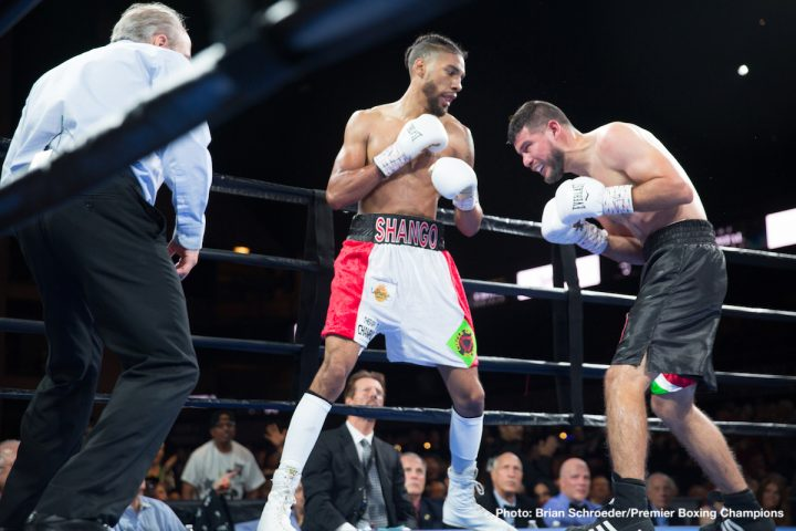Jamal James Scores Second Round Knockout Against Mahonry Montes     Welterweight contender Jamal James  24 1  11 KOs gave his hometown crowd a  treat as he sent Mahonry Montes  35 8 1  24 KOs to the canvas for a second  round