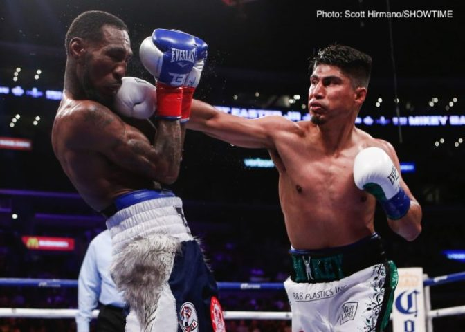 Mikey Garcia  I d knockout Lomachenko and Pacquiao      Boxing News By Dan Ambrose  Mikey Garcia says he would KO both Manny Pacquiao and Vasyl  Lomachenko if he were to face either of them  Mikey has shown the kind of