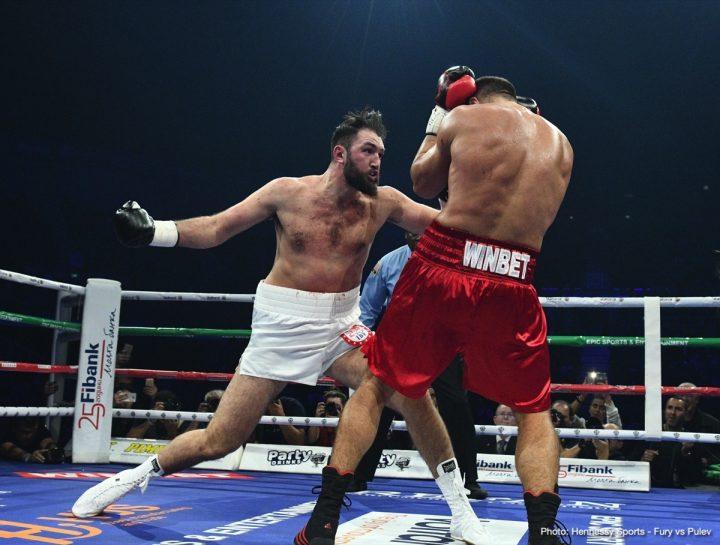 Kubrat Pulev defeats Hughie Fury - RESULTS ⋆ Boxing News 24