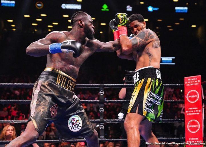 Deontay Wilder Luis Ortiz Wilder vs. Ortiz