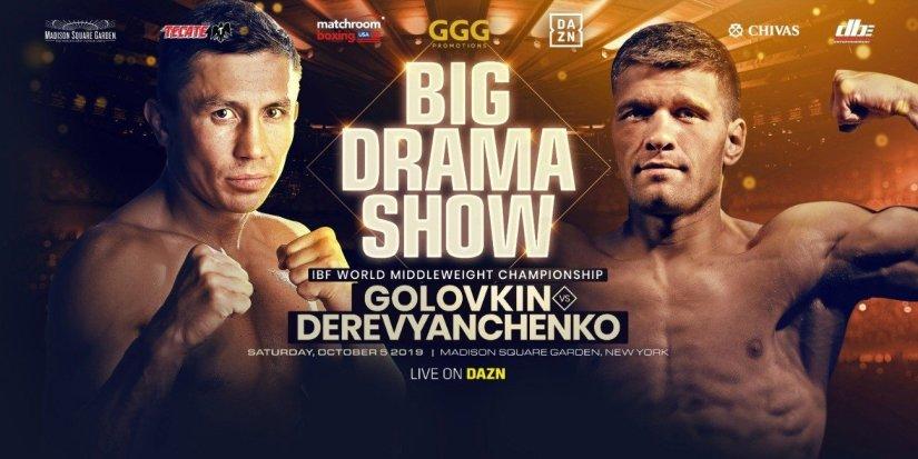 Canelo Alvarez Gennady Golovkin Sergey Kovalev Golovkin vs. Derevyanchenko Sergiy Derevyanchenko
