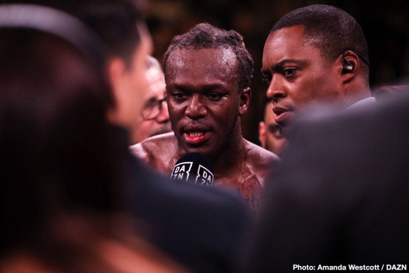 Latest Jeff Mayweather KSI KSI vs. Paul Logan Paul