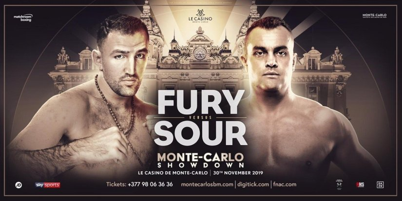 Latest Fury vs. Sour Hughie Fury Matchroom Boxing Pavel Sour