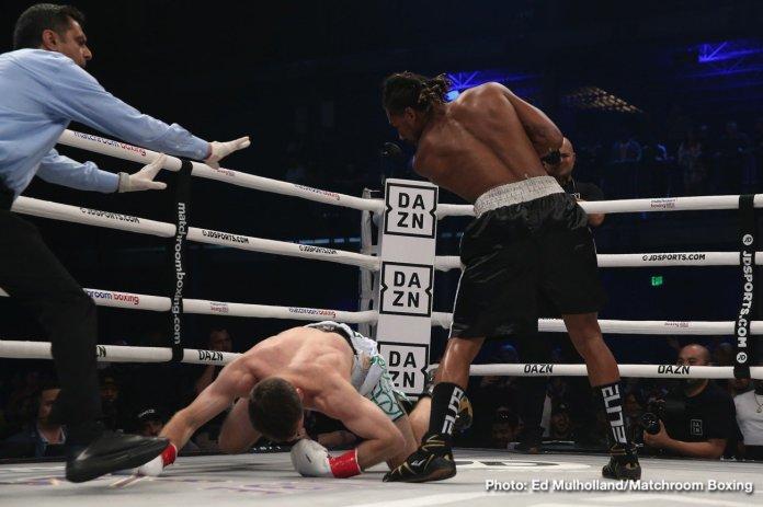 Demetrius Andrade Andrade vs. Keeler DAZN Luke Keeler