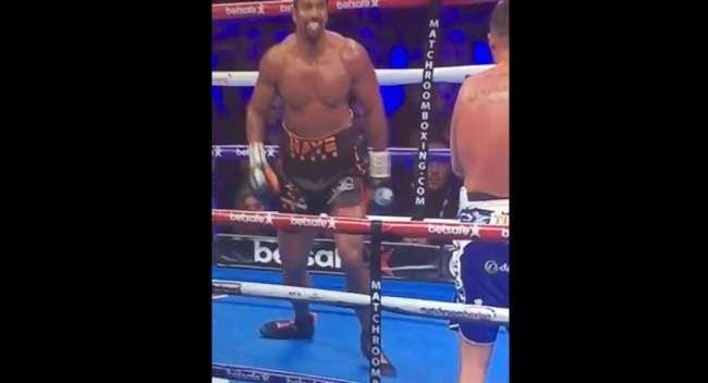david haye achilles