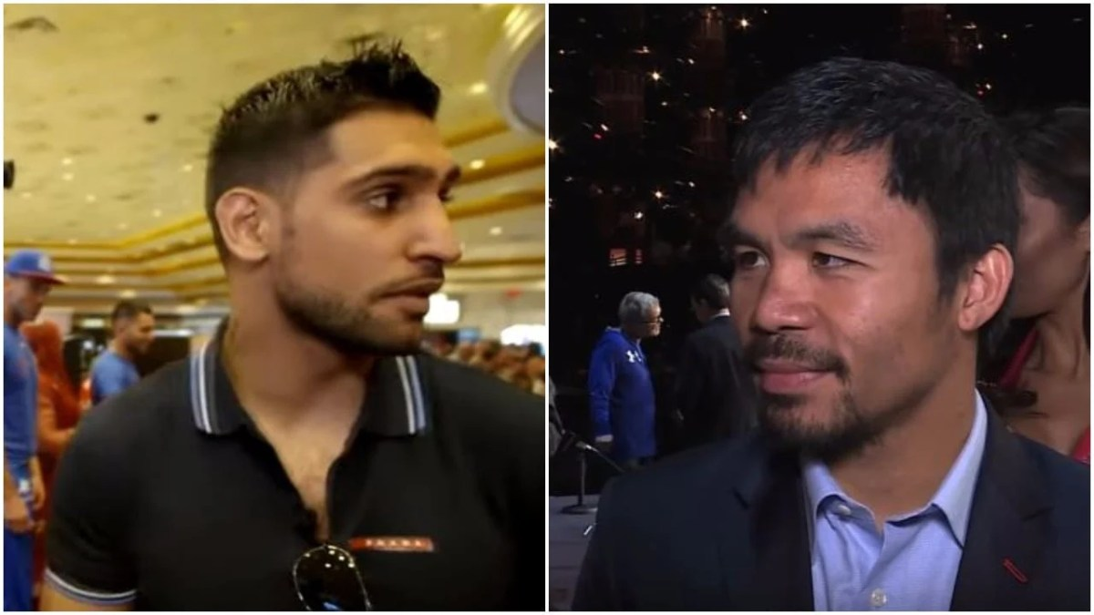 Manny Pacquiao vs Amir Khan - Who Wins?