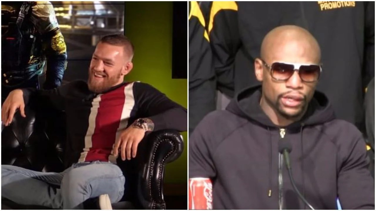 mcgregor says mayweather