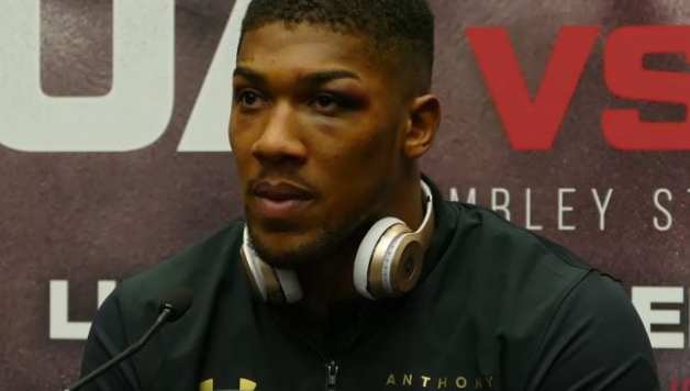Anthony Joshua Reflects