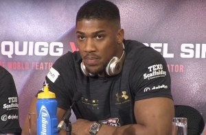 Anthony Joshua Replacement Opponent