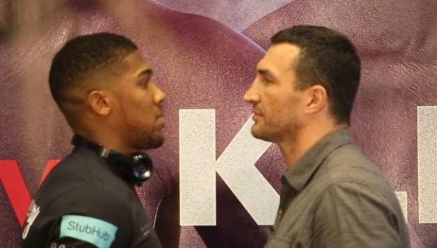 Joshua vs Klitschko Rematch