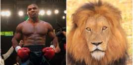 mike tyson scared