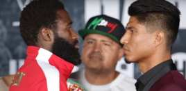 Broner vs Garcia Weigh In Live