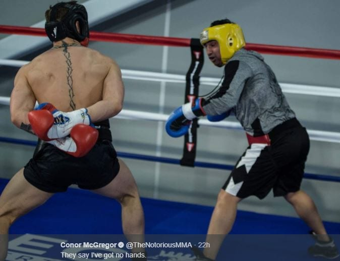 Paulie Malignaggi Talks About Conor McGregor Power Following Spar