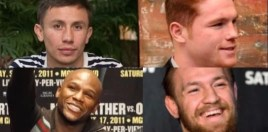 golovkin vs canelo and mayweather vs mcgregor