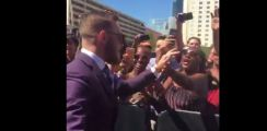 mcgregor arrives