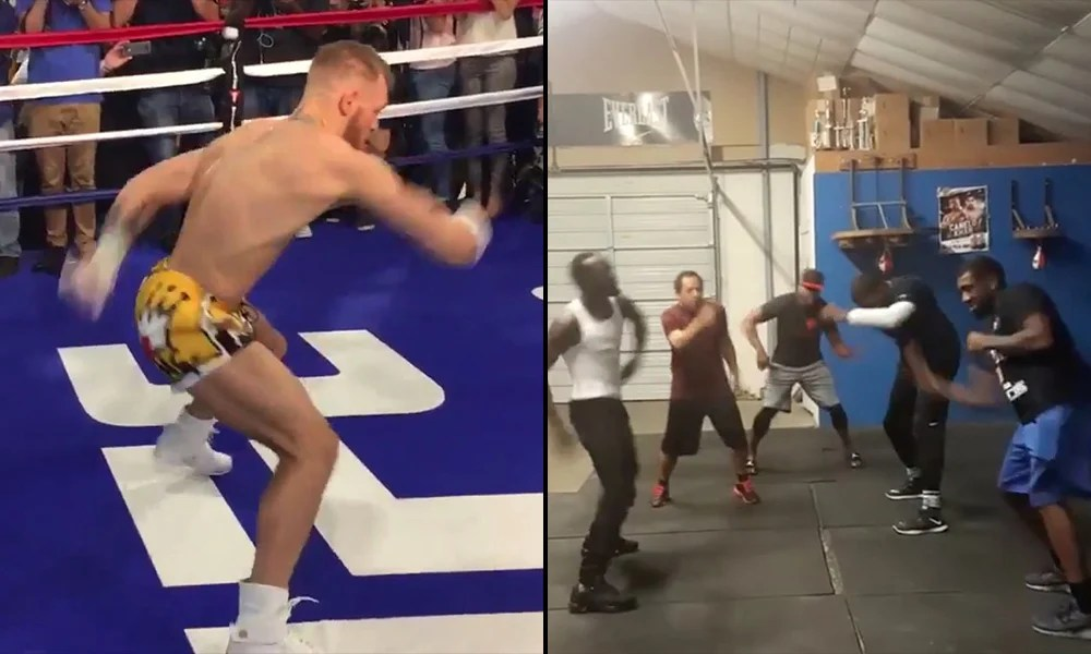McGregor Coach Explains Bizarre McGregor Shadow Boxing Style